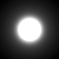 visible Airy disk w/seeing and defocus